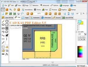 CAD KAS PDF Editor 5.5 Download Full 2019 [ Crack + Keygen]