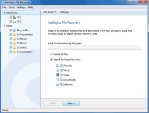 Auslogics File Recovery Crack 9.5.0 With Keygen 2020 Download