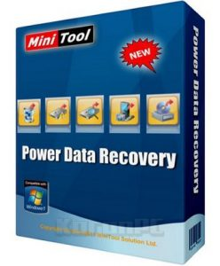 MiniTool Power Data Recovery Crack 8.8 With Serial Key 2020 Download