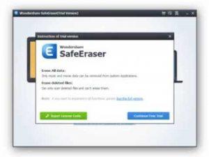 Wondershare SafeEraser Crack 4.9.9.14 For PC 2019 Download {Portable}