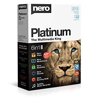Nero Platinum 2019 Crack 20.0.07200 With Key Free Download